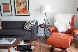 Burnt Orange Curtains And Drapes Burnt Orange Chair Bedroom Contemporary With White Window