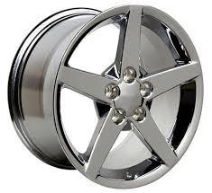 chrome corvette wheels 17x9 5 18x9 5 chrome corvette c6 wheels set of 4 hawks third