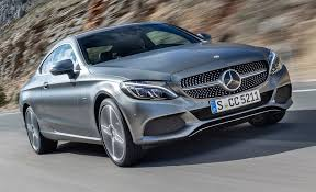 mercedes coupe c class 2017 mercedes c class coupe drive review car and driver