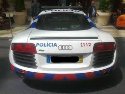 audi hypercar portuguese police audi r8 dat