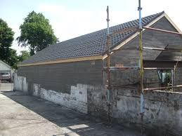 construction blog design build garage in glasgow corotile garage roof glasgow3