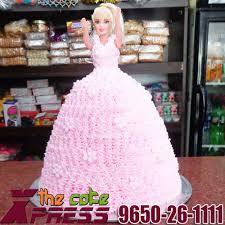 barbie doll birthday cake delivery noida cake