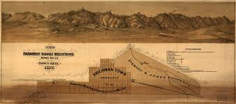 Map Of Death Valley Ghost Towns Of Death Valley Oasis At Death Valley Death Valley