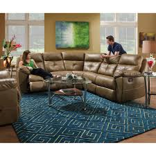 2 piece leather motion living room sectional set city creek