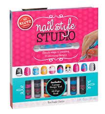 klutz nail style studio book kit cool stuff for kids pinterest