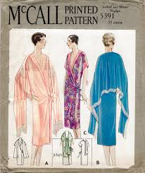 Ropa Interior In English 1920s 20s Mccall 5391 Vintage Lingerie Sewing Pattern Flapper