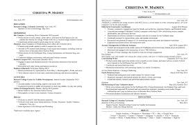 Examples Of A College Resume by 17 Ways To Make Your Resume Fit On One Page Findspark