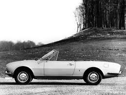 Peugeot 504 Cabriolet Specs 1974 1975 1976 1977 1978 1979