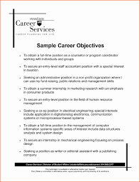 Resume Writing Tips Objective career change resume sles lovely career objective exles for