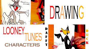 draw looney tunes characters easy bugs bunny daffy