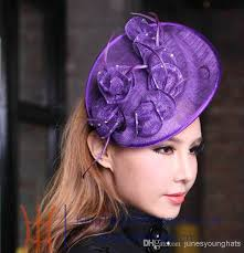 fascinators hair accessories online cheap women fashion sinamay fascinator fashion dress hat