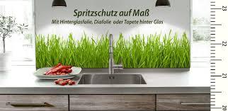 glaspaneele küche spritzschutz küchenrückwand spiegel auf maß bestellen