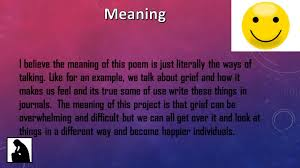 poetry out loud project ppt video online download