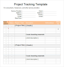 Excel Templates For Tracking Sle Excel Tracking 7 Documents In Excel