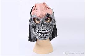 Quality Halloween Costumes Pig Scary Mask Skull Mask Face Mask Quality Halloween