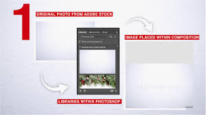 tutorial design your own card with adobe stock and