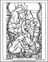 Catholic Saint Coloring Pages Color Page