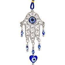 of fatima hanging evil eye protection talisman sabbat box