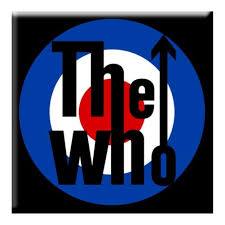 the who target logo magnet