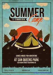 50 best kids summer camp flyer print templates 2017 frip in