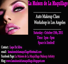 Makeup Academy Los Angeles La Maison De La Maquillage Makeup Artistry Workshop Auto Makeup