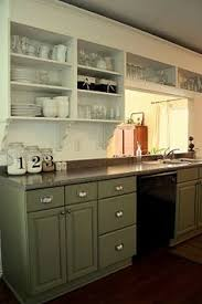 Open Cabinets Huge Kitchen Makeover That Requires No Major Construction But