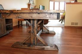Farmhouse Dining Room Tables Pedestal And Vintage Distressed Farmhouse