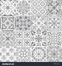 big vector set tiles background grey stock vector 563537881