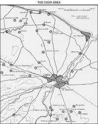 Normandy Map Hyperwar Canada U0027s Battle In Normandy Chapter 3