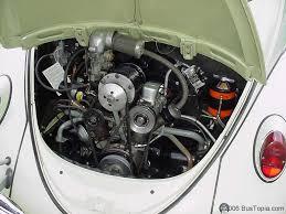 volkswagen beetle engine restored vintage volkswagen bugs 1958 1967 from bustopia com
