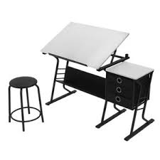 Drafting Table And Chair Set Sturdy Craft Drafting Table Wayfair