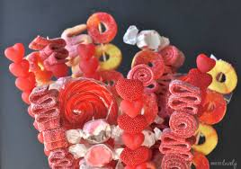 How To Make A Candy Bouquet Valentine U0027s Day Candy Bouquet Recipe Make Life Lovely