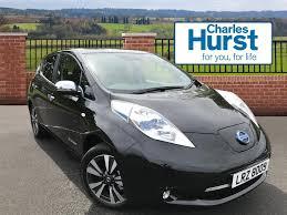 nissan leaf zero deposit used nissan leaf black for sale motors co uk