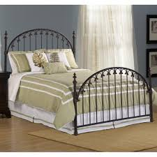 kirkwell iron bed in brushed bronze humble abode