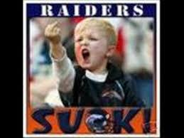 Raiders Suck Memes - the raiders suck youtube