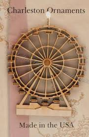 glass ferris wheel ornaments each ornament is