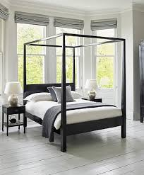 Black Four Poster Bed Frame Modern 4 Poster Bed Four Poster Bed Black Lacquer Pinteres