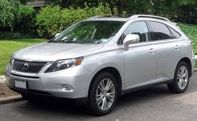 lexus hybrid for sale file lexus rx450h 07 04 2011 jpg wikimedia commons