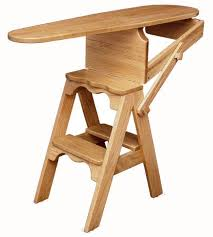 home goods folding table ironing board chair ironing chair step amish handcrafted home