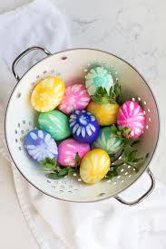 the top 50 ways to dye and decorate easter eggs our favorite