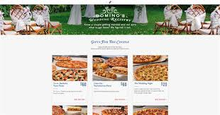 s bridal registry domino s now has a pizza wedding registry today