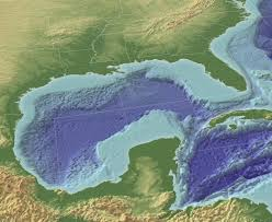 Map Of The Gulf Of Mexico Ocean Explorer Geographic Information Systems 3d Representation