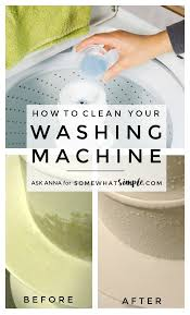 how to clean your washing machine and keep it clean