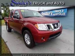nissan truck 2015 2015 nissan frontier pickup in florida for sale 82 used cars