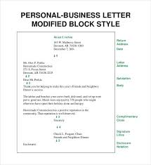 business letter format modified block 28 images modified block