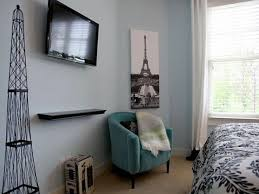 Paris Themed Bedroom Ideas Paris Themed Bedrooms Black And White Brown Wooden Staircase With
