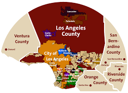 Los Angeles Area Map by Redhive Redhive