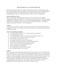 Extract Resume From Linkedin Beauteous Mock Resume Examples Cv Cover Letter Scannable Template