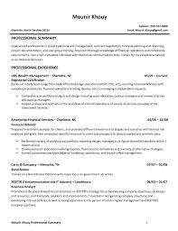 Resume Sample Experienced Professional by Financial Advisor Resume Template Resume Builder
