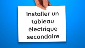 tableau electrique pour cuisine installer un tableau électrique secondaire castorama